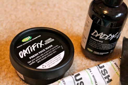 Lush Oatifix and Daddy-O