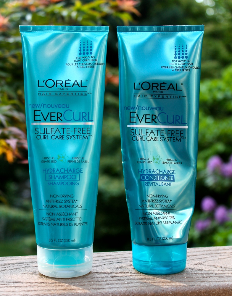 L'Oréal EverCurl™ Hydracharge Shampoo and Conditioner Review